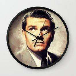 Sir Laurence Olivier, Actor Wall Clock