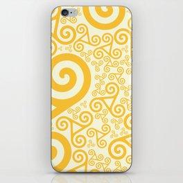 Swirled iPhone Skin