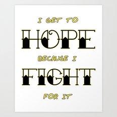 Wendy Watson ~ HOPE Art Print
