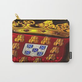 Royal arms in stained glass Carry-All Pouch