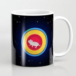 Hamster running the earth Coffee Mug