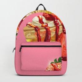 Strawberry cake Backpack