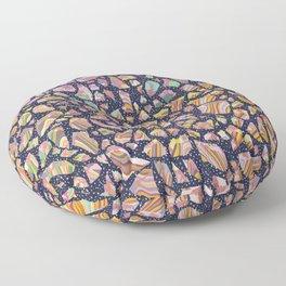 Graphic Terrazzo Floor Pillow