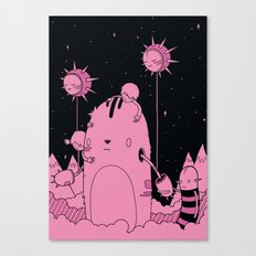 Quest 2 (Pink) Canvas Print