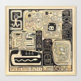 Psychonautes Canvas Print