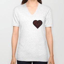 Robotic Heart Unisex V-Neck