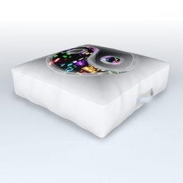 yin yang design Outdoor Floor Cushion