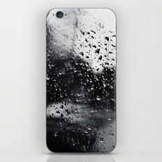 'Side View Rain' iPhone Skin