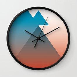 Triangle 1 Wall Clock