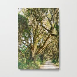 Savannah National Wildlife Refuge IX Metal Print