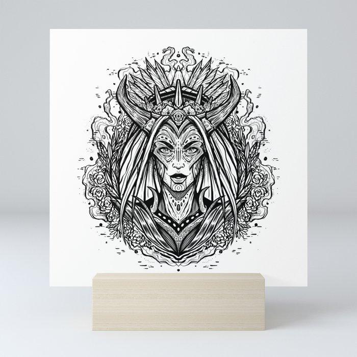 Wrath (Daily Sketch Series) Mini Art Print