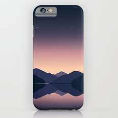 Mountain sunset reflection Slim Case iPhone 6s