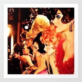 Showgirls Art Print