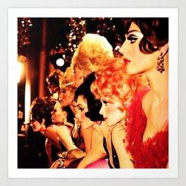 Showgirls Kunstdrucke