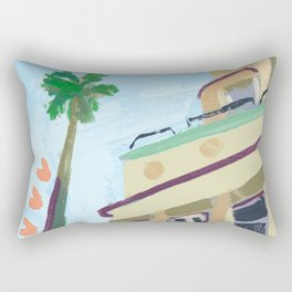 North Beach, Miami Rectangular Pillow
