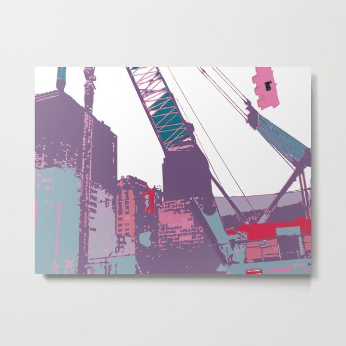 NY#3 (Lost Time) Metal Print