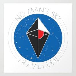 No Man's Sky Art Print