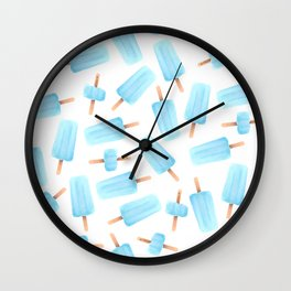 Sea Salt Ice Cream Wall Clock