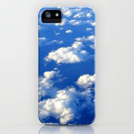 Blue Blue Sky by Lika Ramati iPhone Case