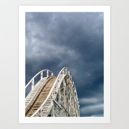 Life is a Rollercoaster Art Print