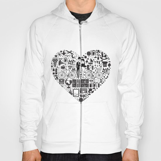 LIKES PATTERNS Hoody