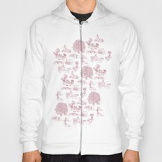 Shire Toile - Red Hoody