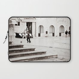 Soccer in the Square Laptop Sleeve