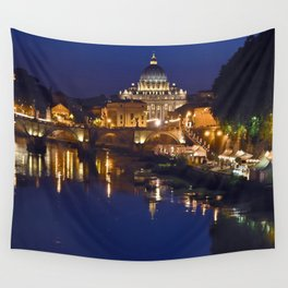 St. Peter's Basilica in Rome Wall Tapestry