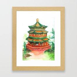 Summer Palace Framed Art Print