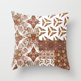 triorchid Throw Pillow