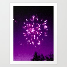 On The Fourth Day Of The Seventh Month Art Print