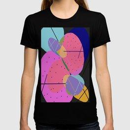 Random Thoughts I - Abstract, minimalist, scandinavian pop art T-shirt