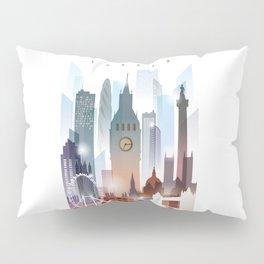 London city skyline, United Kingdom Pillow Sham