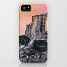 Yosemite Oil Painting iPhone Case