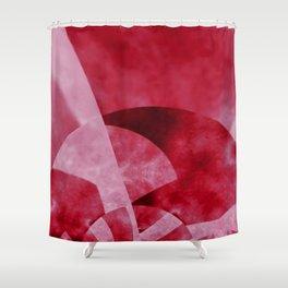 Thinking of Cherry Jello Salad Shower Curtain