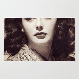 Hedy Lamarr, Hollywood Legend Rug