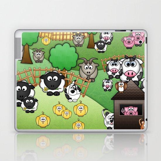 Down On Dingle Dopple Farm Laptop & iPad Skin