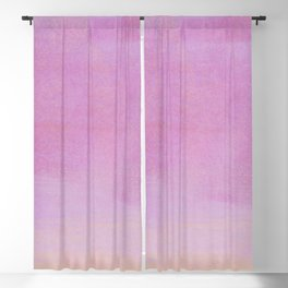 Minimal Abstract Lilac Colorfield Painting 01 Blackout Curtain