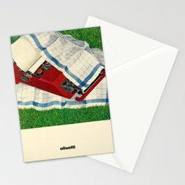 olivetti. 1969  oude poster Stationery Cards