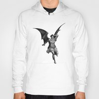 satan Hoodies featuring Satan by TheMessianicManic
