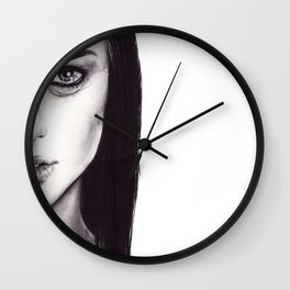 Under Your Bed (Natalie Portman)  Wall Clock