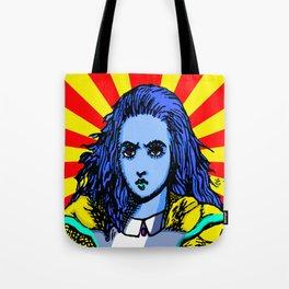 Alice Starburst Tote Bag