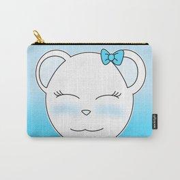 Cute Polar Bear Girl Carry-All Pouch
