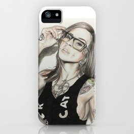 Inkd Girlz series (Madzilla) iPhone Case