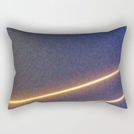 Abstracte Light Art in the Dark Version 41 Rectangular Pillow