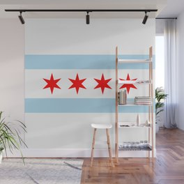 Chicago Flag Wall Mural