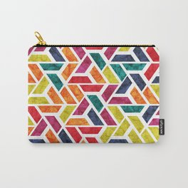 Seamless Colorful Geometric Pattern XII Carry-All Pouch