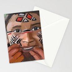 Karaja girl Stationery Cards