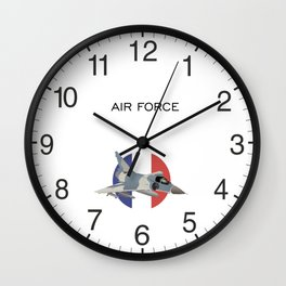 Mirage French Jet Fighter Wall Clock