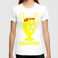 manchester T-shirts featuring Champions League Manchester by Sport_Designs
